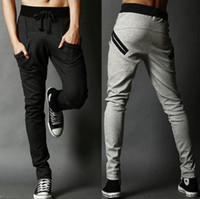 Wholesale Autumn Men Pants Fashion Men Sport Pants Casual Slim Fit Mens Joggers Sweat Pants Big Size M XXL