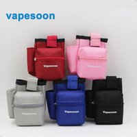 Wholesale E cig carrying case vape bags good mod bag Vapor Pocket Double Deck Vapor bag vape mod carrying case for Sigele