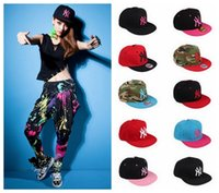 Wholesale 150PCS HHA131 Adjustable snapbacks Hats snapback NY baseball caps adjustable flat hat Hip hop dance lovers Women and men Baseball Cap