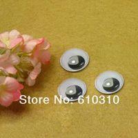 Wholesale mm Black and Whitel round shape Movable Eye dolls eye For Toy diy