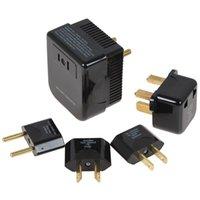 Wholesale Soshine Universal V to V Converter and Plug Set Adapter in US UK EU AU plug