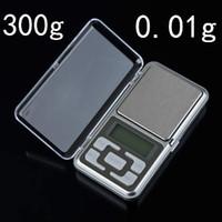 Cheap NEW 1pcs mini 0.01 x 300g Portable Small Mini Digital Jewelry Pocket Gram Scale
