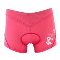 Wholesale Women Outdoor Cycling Underwear With D Sponge Pad Qiuck Dry Shorts Pants For Cycling Bike Riding