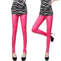 Cheap Women High Waist Leggings Best Imitation Leather Leggings