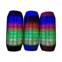 Wholesale Drop shipping Wireless Bluetooth speakers For JBL PULSE Portable Mini Speaker Streaming Colorful LED Lights Hifi TF Card Top Quality
