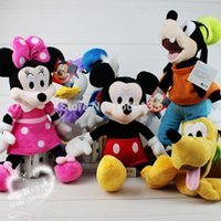 baby goofy - cm pce Mickey Mouse Clubhouse Mickey Minnie Duck Goofy Pluto Doll amp plush Toy kinds gift for kids amp baby