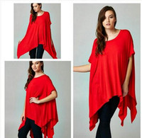 Wholesale 2016 dresses for womens New Arrivals Sexy Club Dress Women Clothing Plus Size T Shirt Dress XXXL Batwing Sleeve Loose Casual Dress
