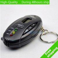 Qualité numérique LCD Analyzer gros haut ALCOTEST ivressomètre avec porte-clés Livraison gratuite UPS DHL HKPAM