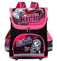 accessories water pressure - Monster High boys school bags water prooofing kids backpacks reduced pressure good durability bag accessories five design winx princess