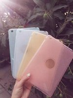 Wholesale Shinning Cases Ultra thin Case Crytal Clear TPU Soft Back Cover For iPad mini