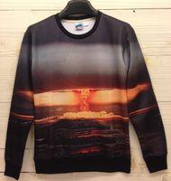 atomic hoodie - w1218 Magic At sea Atomic Bomb Hot men d sweatshirt long sleeve o neck good print casual hoodies sweatshirts