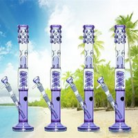 best water slides - Best Selling Lavender Coil Spring Perc Recycler Glass Bong Slide Bowl Downstem mm Joint Purple Water Bongs Oil Rigs