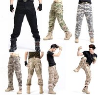 Wholesale Outdoor casual pants U S combat trousers Male a commando operation desert camouflage pants overalls
