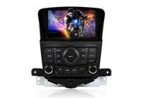 Wholesale CASKA CAR DVD player double din din GPS navigation FREE D map bluetoth windows CE CA188 HQ7 for CHEVROLET CRUZE