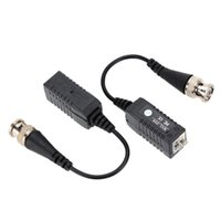 Wholesale New UTP Transceiver connector X CCTV Passive Video Balun UTP Camera Coax CAT5 BNC Channel security appliance