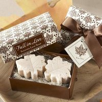 best handmade soaps - Deal Creative Gift Handmade Mini Scented Soaps Maple Leaf Design Bath Soap Best Gift Wedding Party A2