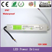 Wholesale DC V W IP67 Waterproof Electronic LED Driver Outdoor Lighting Equipment Dedicated Power Supply Transformers
