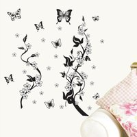 bedroom wardrobe designs - Wall stickers home decoration Removable stickers bedroom wall stickers wallpaper wardrobe warm and rich wall paintings flower vine DM57