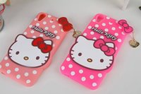 aero soft - Lovely Cartoon Hello Kitty Silicone gel rubber soft Case For HTC Desire D626 D S One A9 Aero Polka Dot Bubble ring skin cover