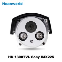 Wholesale Hot selling sony TVL Color outdoor security CMOS camera waterproof CCTV Camera beautiful two array IR camera with IR CUT