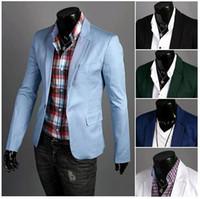 cotton velvet - 2015 New pattern mens blazers terno masculino men cotton suits slim fit velvet Suit Jacket men s business suit wedding Blazers