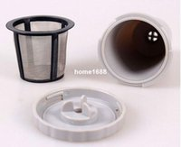 10 sets a lot keurig my kcup reusable coffee filter replacement set fits b30 b40 b50 b60 b70 series my k cup free shipping - Cheap Keurig