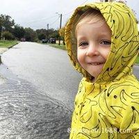 banana wear - Ins Hot mini rodini new autumn winter boy amp girl yellow banana out wear warm coat