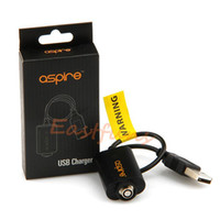 aspire cable - Original Aspire Nautilus USB Charger Cable For Ecig Ego Batteries Portable Battery Charger USB Charging Adapter For E Cigarette Battery Ego