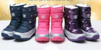 china shoes children - China Top Brand winter children snow boots boys girls boots High quality kids shoes suitable for Russian winter JIA661