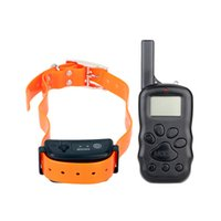 awesome pets - Hot Sale LED Water Resistant Electric Shock Collar Dog Pet Training Collar for Dog Awesome Pet Product M Remote Range