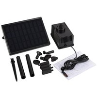 battery submersible pump - New Pools Spas V W Solar Power Built in Storage Battery Brushless Submersible Pump kit VB179 W1 SUPS