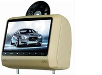 dvd - 9 Inch Headrest DVD Touch Button Pillow LED Monitor Car DVD Player Retail Pair