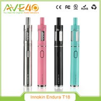 Cheap Original Innokin Endura T18 Starter Kit 2.5ml Top Fill Tank and 1000mAh Battery Pen Style eGo E Vapor Kit VS Kanger Subvod Mega Kit