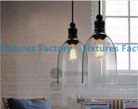 Wholesale Modern crystal bell glass pendant lights Dining room Indoor Contemporary lighting fixtures