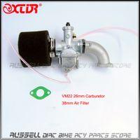 Wholesale MIKUNI Carburetor VM22 PZ26 Kit Mainfold Intake Pipe Air Filter cc cc Dirt Pit Bike Motorcycle Carburetor