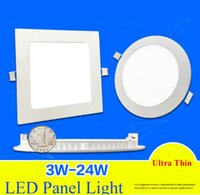bathroom kitchen supplies - 6W W W W W W Led Ceiling Lights Recessed Downlights V Ultrathin Led Panel Lights With Power Supply Cool white Warm