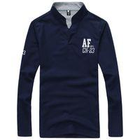 aft shirt - 2015 new autumn long sleeved shirt Fashionable letter AFt explosion models men s t shirts
