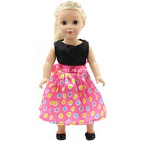 Wholesale Hot Sale pink Party Princess Dress Doll Clothes For