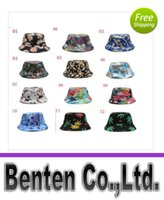 Wholesale hot new stock to bucket hat fashion flower hat sun hat sombrero LLFA3185F