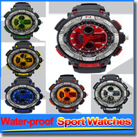 best titanium watch - Hot Fashion Best Men s Sports Watches Multifunction Electronic Double Movement Watch Meters Waterproof Diving Watches