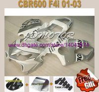 aftermarket motorcycle windscreens - Aftermarket Motorcycle Fairings for HONDA CBR600RR F4i CBR600 F4i REPSOL fairing kits windscreen p87mj8
