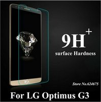 Wholesale 0 mm D H Tempered Glass Screen Protector Protection Film Guard Anti shatter for LG G3 D855