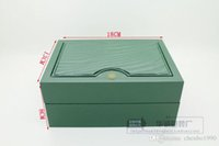 Wholesale Factory Supplier new Watchs Wooden Boxes Gift Box green Wooden Watchs Box Men s Watches box original Rolex Watchs Box