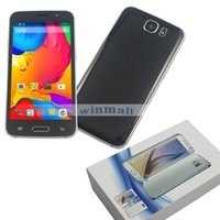 Wholesale Jiake M6 inch px Dual core Dual SIM Android Cell Phone Quad Band Unlocked Smartphone Free case