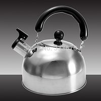 Wholesale New Liter Stainless Steel Whistle Whistling Tea Induction Kettle Water Pot Heat Boiler