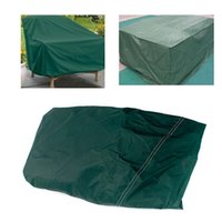 Wholesale New Durable breathable Square shape RECT indoor Outdoor Furniture Waterproof Cover Patio Dining Coffee Table Chair Shelter