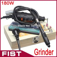 Wholesale FreeShipping Grinder Dremel Hardware Variable Speed Rotary Tool Electric Tools Mini Drill with Accessories Flexible tube