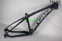 Wholesale Factory price full carbon mountain bike frame green yellow red gloosy matte mtb carbon frame er T800 bicycle frame