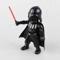 Wholesale StarWars High quality PVC action Star Wars Figures toy Black Knight Darth Vader PVC Action Figures cm With Retail Box