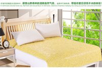 Wholesale Bamboo mahjong sleeping bed mat for single or double bed high quality new summer super cool comfortable mat